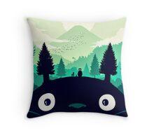 【7400+ views】Totoro Mountain Throw Pillow