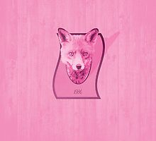 Hunting Series - The Pink Fox Head by thejoyker1986