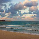 Black Sea Coast near Varna at Dusk by kirilart