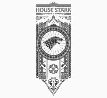 House Stark (Black) by Olipop