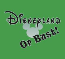 Disneyland or Bust! - Green by Margybear