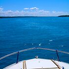 Boating, Torch Lake, Michigan by johnneyer