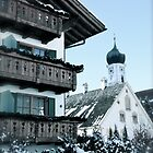 Winter Wonderland - Oberammergau, Bavaria, Germany by Tricia Mitchell