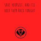 MCR - Save Yourself by Kayleigh Gough