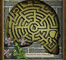 Hamlet Shadow Box by ehrenz