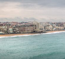 Biarritz Skyline - France by Joshua McDonough