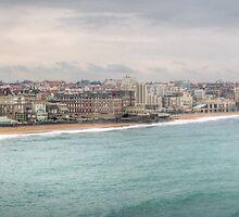 Biarritz Skyline - France by mcdonojj
