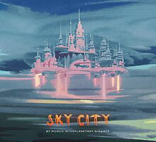Sky City (Flash Gordon Series) by Greg Stedman