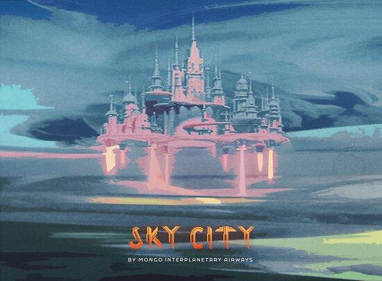 Sky City (Flash Gordon Series) by Greg Stedman