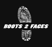 Boots 2 Faces by Bob Buel