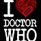I LOVE DR.WHO (Dark Colors Version)  by soulthrow