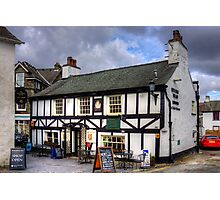 Queen's Head at Hawkshead Photographic Print