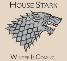House Stark Direwolf Sigil by Colton Doyle