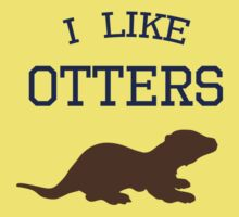 I Like Otters by jezkemp