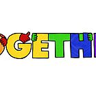 TOGETHER (rainbow colorway) by Nichole Lillian Ryan