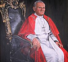 Pope John Paul II by terrysita1