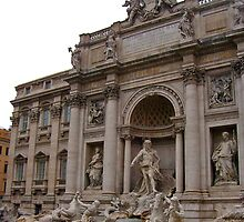 Trevi Fountain by groovytunes9