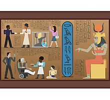 Communities of Ancient Egypt Photographic Print