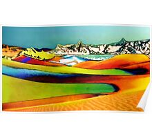 The Painted Desert Poster