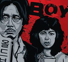 Old Boy - a film by Park Chan-Wook - movie poster by Ivan Ruivivar