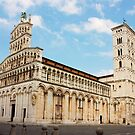 Basilica San Michele in Foro in Lucca, Italy by kirilart