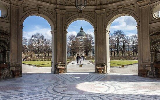The Munich Hofgarten by Philip Kearney