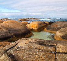 Rocky Shores by John Sharp