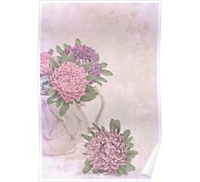 Tea Pot Asters Poster