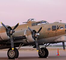 B-17 - A Flying Fortress by aprilann