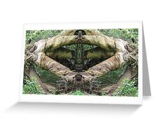 NaturalTreeTone2 Greeting Card
