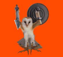 Spartan Gibbon Owl Kids Clothes