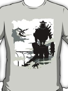 Silhouette of the Colossus white T-Shirt