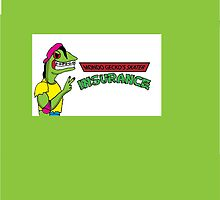 Mondo Gecko's Skater Insurance  by jeffaz81
