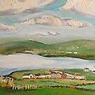 Dingle Bay, Kerry Ireland, Panel 2  by Caroline  Hajjar Duggan