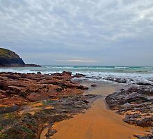 Church Cove Beach Gunwalloe by Chris Thaxter