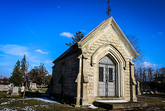 Moon Over Mausoleum by Nevermind the Camera Photography