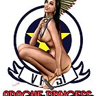 Apache Princess Pin Up Girl by simonbreeze