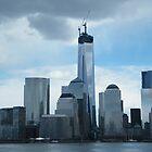 The New World Trade Center Dominates the Lower Manhattan Skyline, New York City by lenspiro