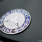 Mercedes Benz badge by Ty  Cobb