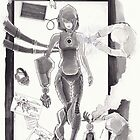 Cyborg in Theatre by Loukash