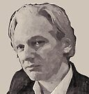 Julian Assange for Senator by Albert