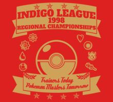 Indigo League (Gold) by Dillon Finley