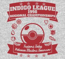 Indigo League (Red) by Dillon Finley