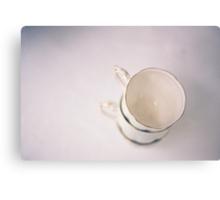 vintage cups on film Canvas Print