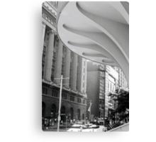 The City on film Canvas Print