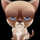 The Cutest Grumpy Cat  by jpmdesign