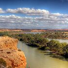 The River Murray - Walker&#x27;s Flat, South Australia by Mark Richards