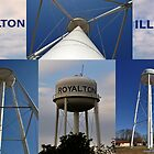 Royalton Water Tower by michaelasamples