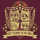 Scott Pilgrim vs the World - Crest by Raura