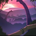 Isla Nublar - The Prehistoric Paradise by DinobotTees